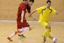 Futsal, play off celostátní ligy Trivel Klatovy - Gioia Brno 5:2.