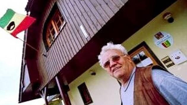 Dnes už bývalý starosta Horské Kvildy Eduard Hones