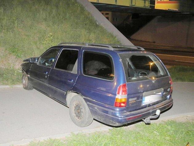 Dopravní nehoda v Klatovech