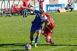 Fotbalisté divizních Klatov remizovali v 11. kole soutěže na hřišti Soběslavi 2:2, i když po prvním poločase vedli o dvě branky.