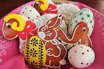 Velikonoční perníčky. Foto: Lucie Kohoutová
