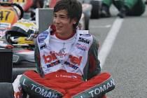Mladý talentovaný motokárista Libor Toman z Klatov si při své premiéře v profesionální třídě KF1 v evropském šamionátu vyjezdil  mezi ostřílenými piloty výborné šesté místo.