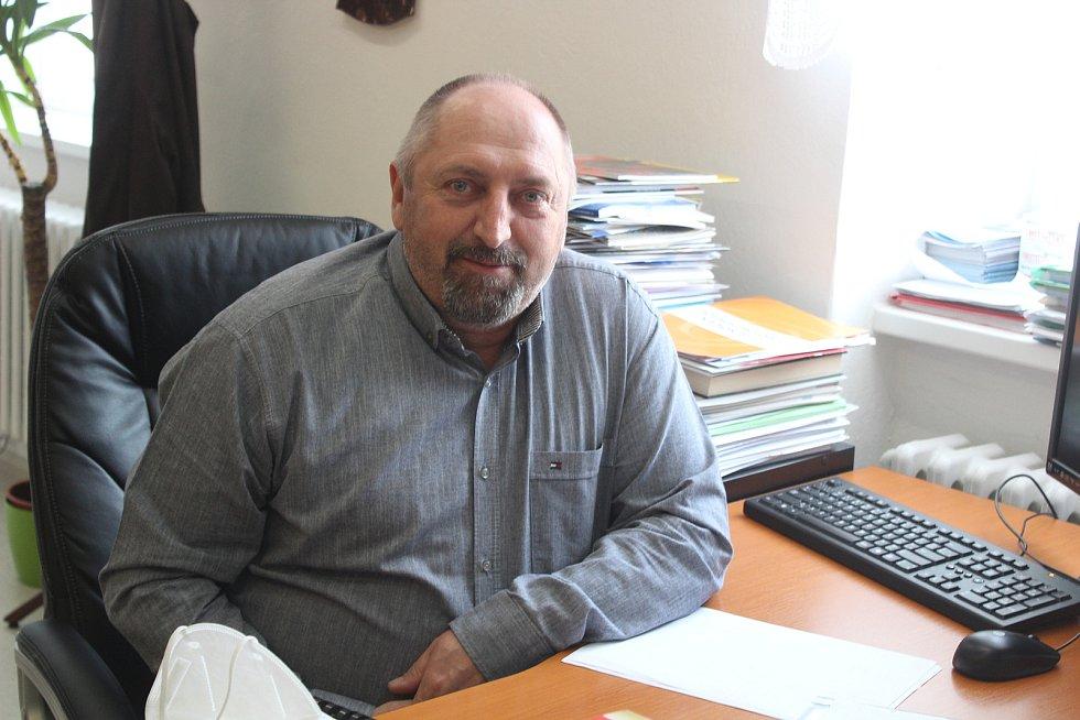 Starosta Hartmanic Pavel Valdman.