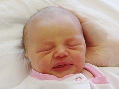Ema Valešová zKlatov (3130 g, 50 cm) se narodila vklatovské porodnici 26. dubna v5.30 hodin. Rodiče Adéla a Jan přivítali svoji očekávanou prvorozenou dceru na svět společně.
