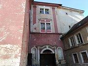Bývalá sodovkárna v Klatovech.