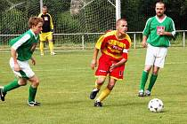 Fotbal Janovice B - Dlažov