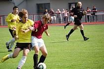 Fotbal Klatovy - Domažlice 1:2 (starší žáci)