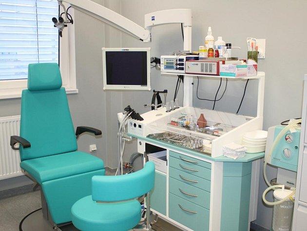 ORL v nové Klatovské nemocnici