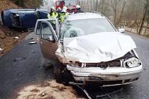 Nehoda u Radešova.