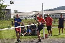 Nohejbalový turnaj v Děpolticích