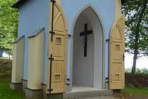 Kaple sv. Hildegardy nedaleko Velhartic.