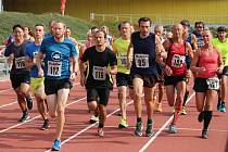 Běh podél Otavy vyhrál Petr Urban.