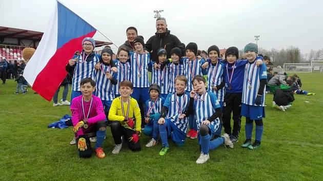 Nýrští fotbalové válečníci v kategorii U10 se na prestižním turnaji v Záhřebu neztratili. Skončili jedenáctí.