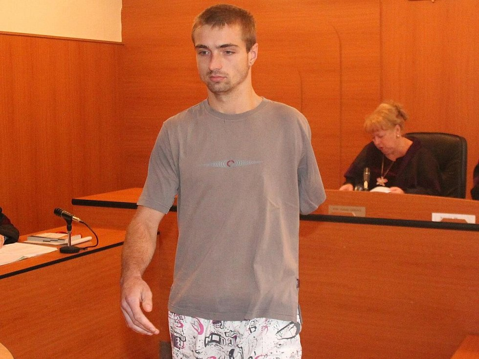 Ivan Stojanov u klatovského soudu
