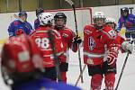 Liga mladších žáků 2016/2017: HC Klatovy (červené dresy) - HC Tábor B 3:2