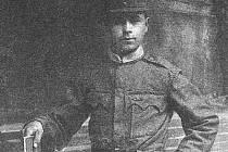 Kronikář Josef Pach působil za I. světové války v italských legiích.