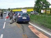 Nedělní nehoda v Horažďovicích