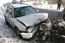 Německého řidiče zastavil náraz do stromu