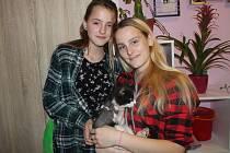 Kočky bez nohy se ujaly Michaela (19) a Melanie (12) Bílých ze Štěpánovic.