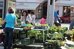 Farmářské trhy v Klatovech.