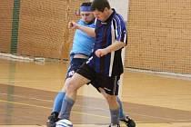 Pátý turnaj okresní soutěže ve futsale.
