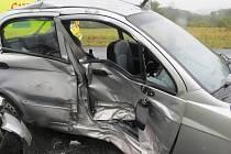 Dopravní nehoda u Rabí.