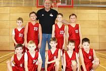 Vypadají neškodně, ale na basketbalové palubovce jde z nich strach. Seznamte se, to je výběr BK Klatovy U10.