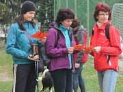 Tradiční turistický pochod Gymnaziální padesátka se šel v Klatovech 12. 4. 2014