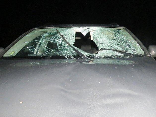 Nehoda u Alžbětína.