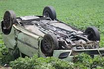 Dopravní nehoda v Malém Boru