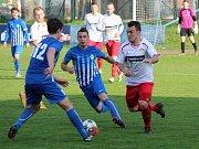 Divize 2016/2017: Klatovy (bílé dresy) - Ostrov 2:1