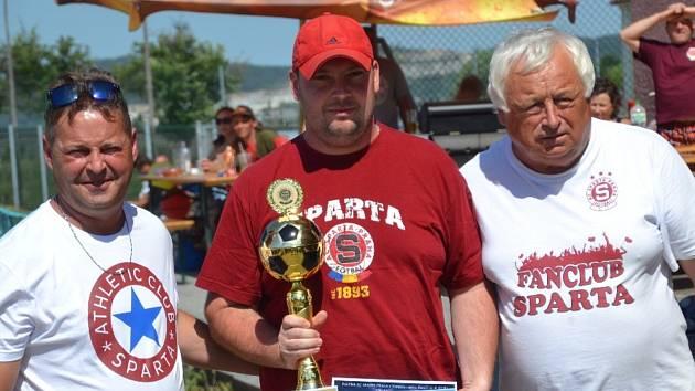 Memoriál Pavla Pilného 2017 - turnaj poboček fanklubů AC Sparta Praha.