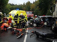 Nehoda u Javorné.