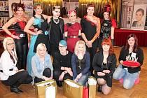 Sušické kadeřnice se na mistrovství České republiky neztratily.