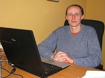 Šéf Airwebu Miroslav Matějka.