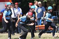 Pošumavská hasičská liga v Defurových Lažanech