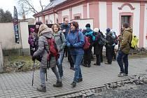 Pochod Křižíkovo stezkou v Plánici.