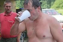 Pivní triatlon v Chlistově