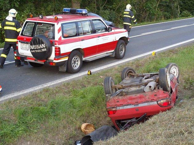 Dopravní nehoda u Kocourova