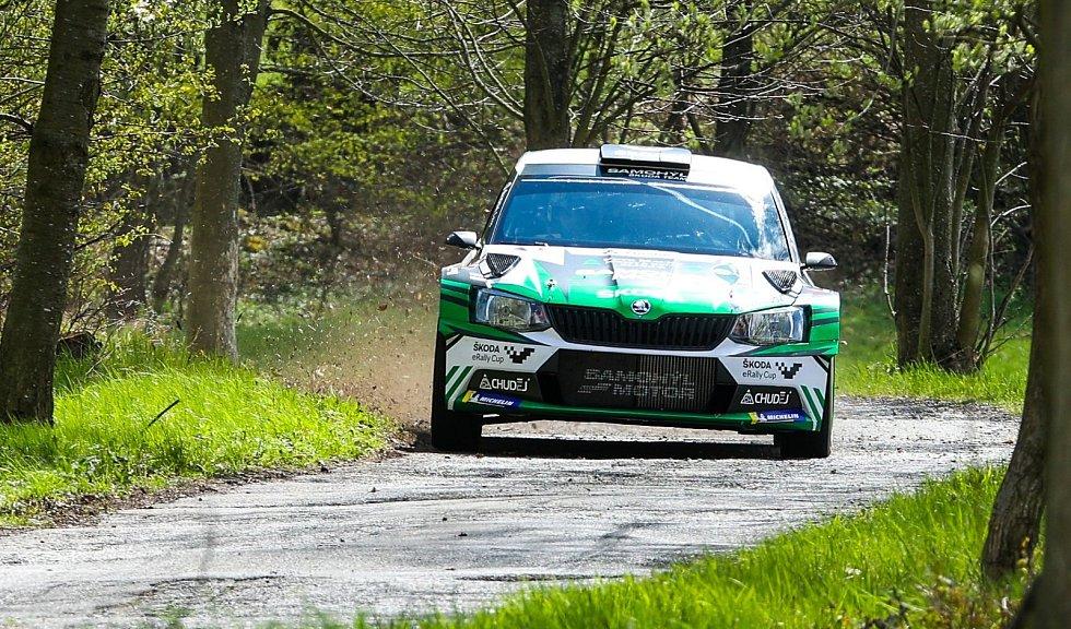 Rallye Šumava Klatovy ovládl Kopecký, plzeňský Václav Pech měl potíže s turbem.