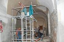 Opravy jezuitské koleje v Klatovech