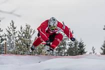 Václav Kosnar z Klatov při tréninku na závod Riders Cupu ve finském Rautalampi