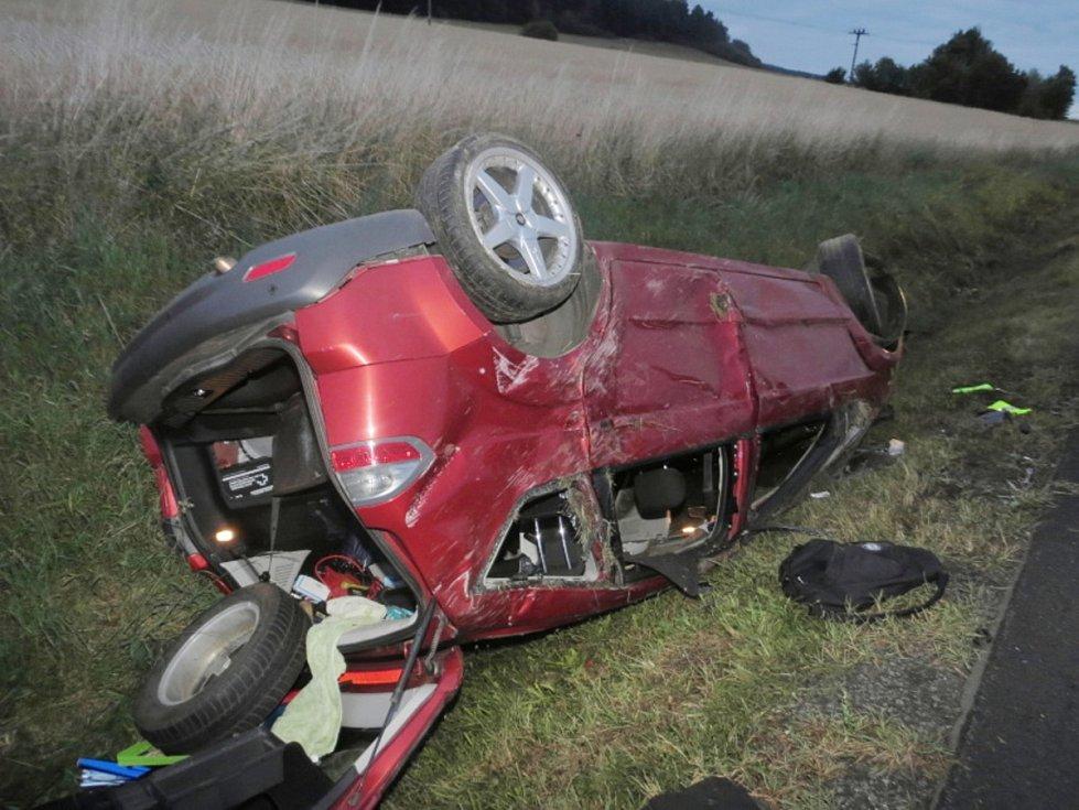 Nehoda u Struhadla.