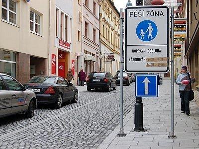 Vjezd vozidel do ulic Randova a Kpt. Jaroše v Klatovech bude od dubna umožněn jen automobilům se zásobováním a vozům dopravní obsluhy.