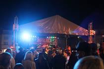 Ekompilace v Klatovech. Smyslem festivalu je podpora myšlenky třídění obalového odpadu