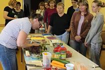 Kurz slaných dortů v knihovně v Janovicích nad Úhlavou