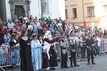 Svatováclavská jízda v Klatovech 2014.