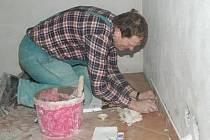 Oprava školky v Plánici