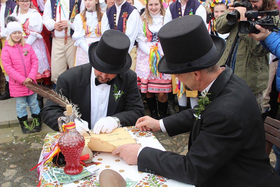 Staročeská svatba v Plánici 2020.