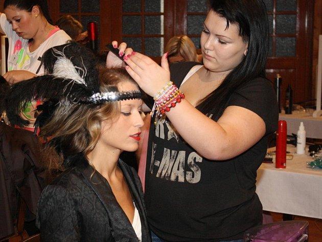 Kadeřnická soutěž Glamour - Kouzlo krásy 2013 v Sušici